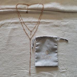 Kendra Scott Krista Lariat necklace